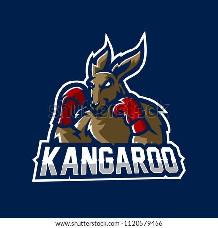 kangaroo esport gaming mascot