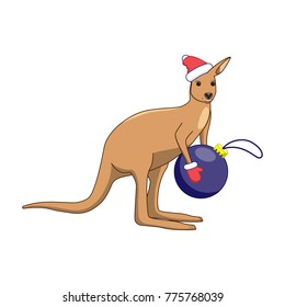 Christmas Kangaroo Cartoon.Christmas Kangaroo Images Stock Photos Vectors Shutterstock