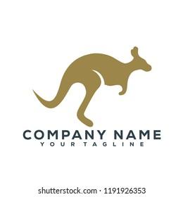 Kangaroo Vector Graphic Template Download Modern