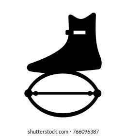 Kangoo jumping shoe