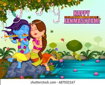 kanha playing radha on krishna 260nw