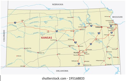 Map Of America Kansas.Kansas Map Images Stock Photos Vectors Shutterstock