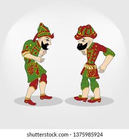 Karagoz and hacivat, ramadan, shadow game, islamic, ramadan kareem, gölge oyunu, hacivat karagöz, puppet, ramadan mubarak, osmanlı