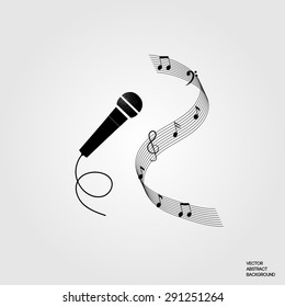 Microphone Music Note Images Stock Photos Vectors Shutterstock