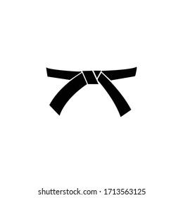 A karate belt part of karate dress