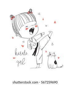 Karate Girls Images Stock Photos Vectors Shutterstock