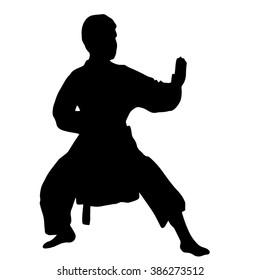 Karate. Sport. Children's sports. Section karate.