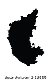 Karnataka Map Images, Stock Photos & Vectors | Shutterstock