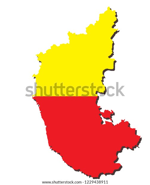 Karnataka Map Shape Stock Vector (Royalty Free) 1229438911 on andhra pradesh map, sri lanka map, m.p. map, gujarat map, union territory map, maharashtra map, bangalore map, haryana map, telangana map, uttar pradesh map, west bengal map, tamilnadu map, uttarakhand map, kashmir map, kerala map, goa map, india map, delhi map, pondicherry map, rajasthan map,