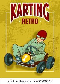 karting retro