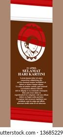 Kartini Day, R A Kartini the heroes of women and human right in Indonesia Vector Illustration. Suitable for greeting card, poster and banner.