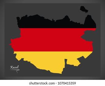 Kassel Map Images Stock Photos Vectors Shutterstock
