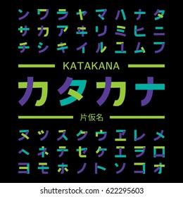 Katakana - Japanese alphabet