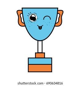 kawaii cute funny prize cup