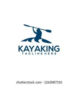 Kayaking Logo Design