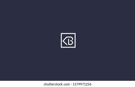 KB,BK,K and K logo in side a square  , alphabet letters, monogram icon favicon