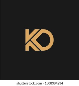 KD Initial logo design for multiple business