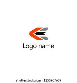 KE Letter Logo Design, Premium Vector Creative Modern identity design, vector eps