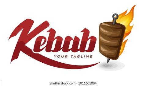 Kebab logo design