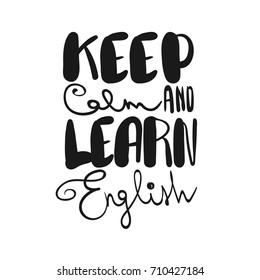 imagenes fotos de stock y vectores sobre learning english quotes