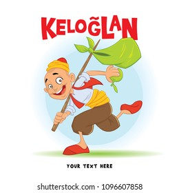 Keloglan Turkish Tale Chararcter Illustration