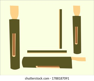 Kentongan or which in Javanese is called jidor is a bat made of bamboo sticks or carved teak logs
