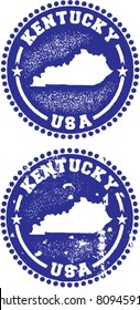 Kentucky USA Stamps