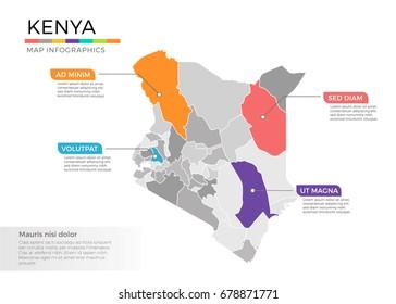 Kenya Map Images, Stock Photos & Vectors | Shutterstock