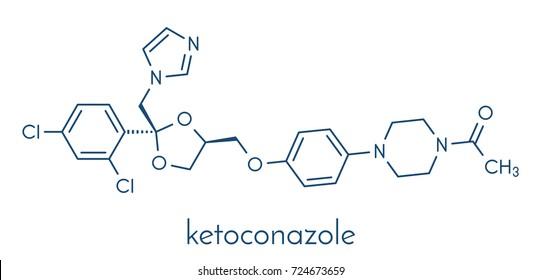 Hair ringworm stock vectors images vector art shutterstock ketoconazole antifungal drug molecule skeletal formula ccuart Gallery