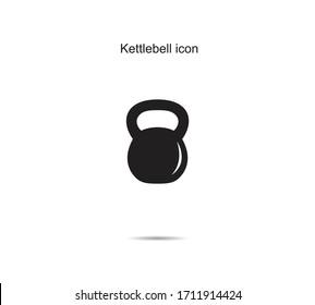 Kettlebell icon  ideas design vector illustration graphic on background