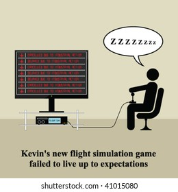 Kevin was disappointed with his new video game