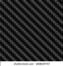 Kevlar Carbon Fiber Vector Seamless Pattern