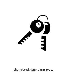 key icon design template vector