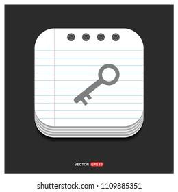 key icon - Free Vector Icon