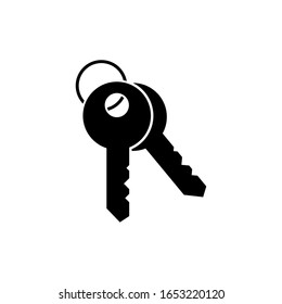 Key icon, security sign design. Protection. Lock.