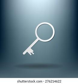 key icon sign