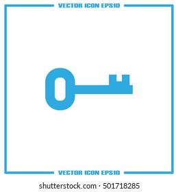 key icon vector illustration eps10