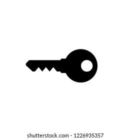 Key icon. Key vector icon. Key symbol for web site design