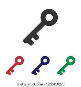 Key icon.Keyword vector sign.