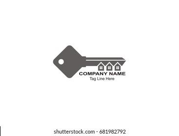key logo for real estate company