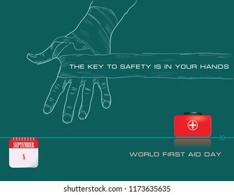 The Key To Safety Is in Your Hands - World First Aid Day