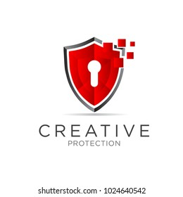 key shield logo