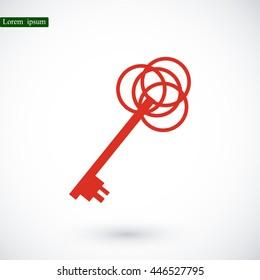 key sign icon
