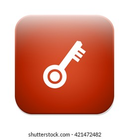 Key sign icon. Unlock tool symbol