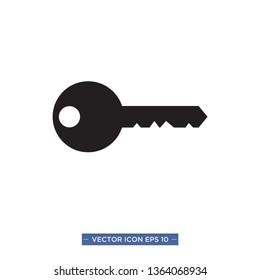 key vector icon template