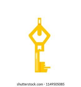 key, vector illustration