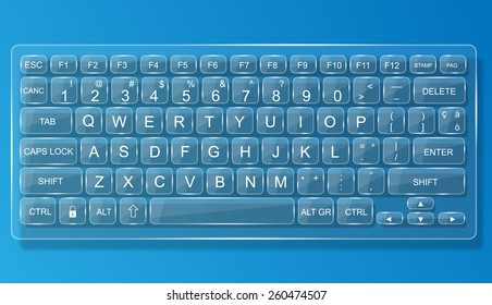 Transparent Keyboard Images Stock Photos Vectors Shutterstock