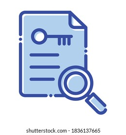 Keyword generator,  keyword, creation, search fully editable vector icons