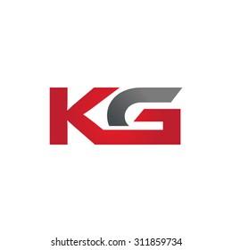 KG company group linked letter logo