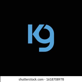 KG or GK logo and icon designs